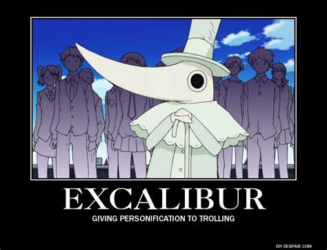 Soul Eater Excalibur Meme - trolololo by megamakachop on deviantart