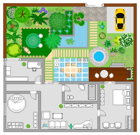 floor plan planning garden plan exles and templates