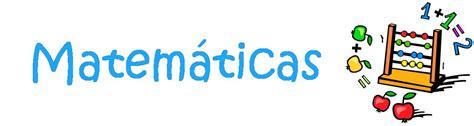 imagenes de matematicas nombre materias