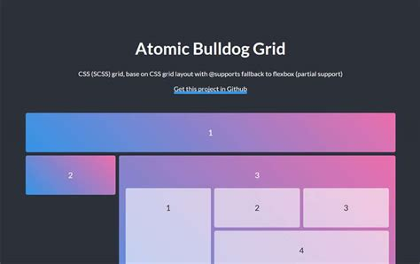 layout grid scss 100 best grid systems tools for responsive design