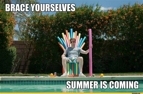 Funny Summer Memes - game of thrones brace yourselves imminent ned brace