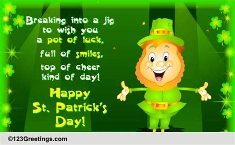 St Day Birthday Quotes St Patrick S Day Cards Free St Patrick S Day Wishes