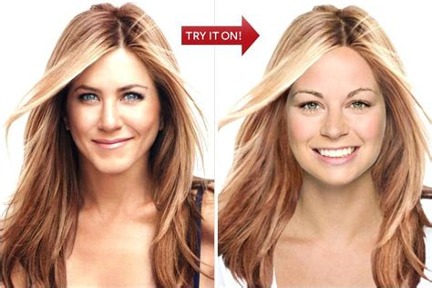 Try Hairstyles On Your by Home Improvement Try Hairstyles On Your Photo Free