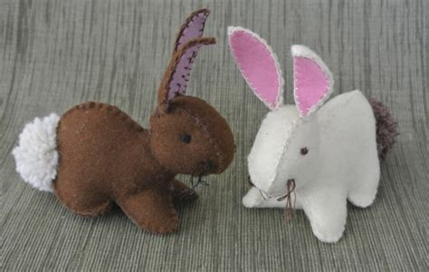 pattern for felt rabbit felt easter bunny template free easter bunny pattern