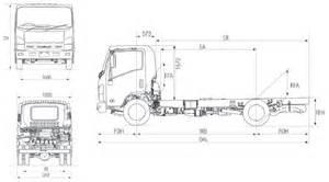 Isuzu Truck Dimensions Lance Cer Australia Slide On Cer Sales Hobart