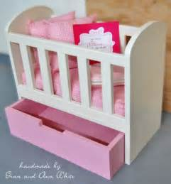 Cribs For Dolls by White Olivia S Doll Crib Diy Projects