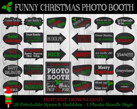 printable photo booth props christmas printable christmas photo booth props christmas
