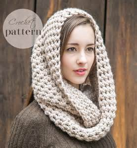 Crochet Infinity Scarf For Beginners Infinity Scarf Pattern Pdf Crochet Pattern Beginner