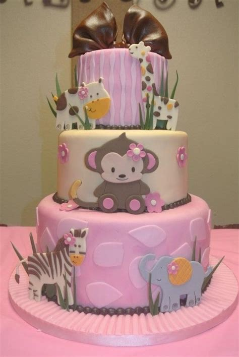 Home Decor Owls adorable monkey baby shower cake jungles baby