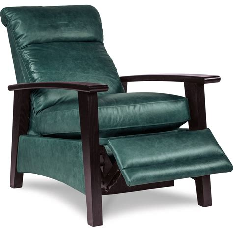 wood arm recliner la z boy recliners nouveau modern recliner with wood arms
