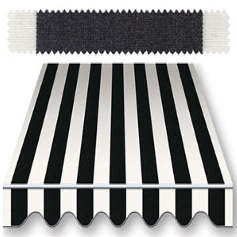 black and white striped awning recacril classic stripes black white 47 inch r 017 awning
