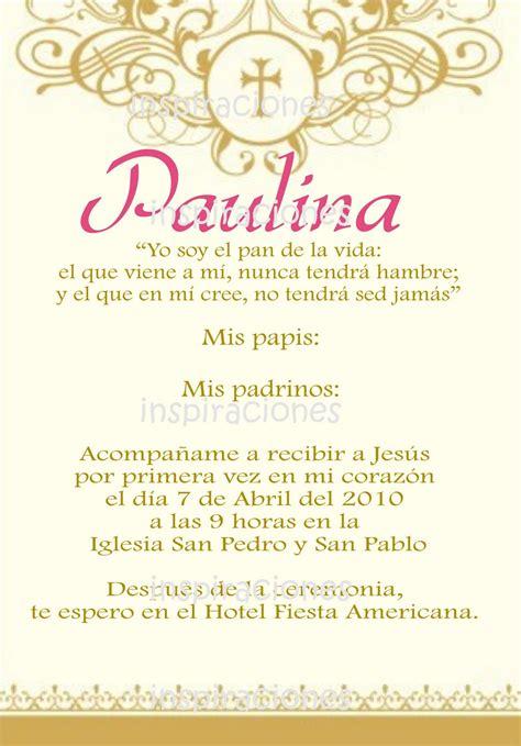 invitaciones primera comuni n tarjetas e invitaciones invitaciones de primera comunion en espanol www imgkid