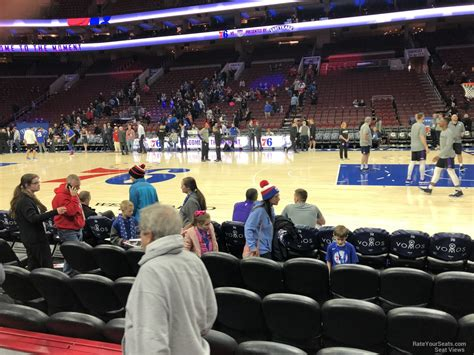 wells fargo center section 114 wells fargo center section 114 philadelphia 76ers