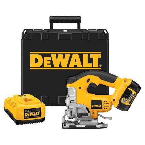 dewalt 18 volt xrp lithium ion cordless jig saw kit with