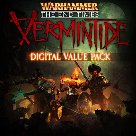 Kaset Ps 4 Warhammer The End Time Vermintide warhammer the end times vermintide digital value pack for playstation 4 2017 mobygames