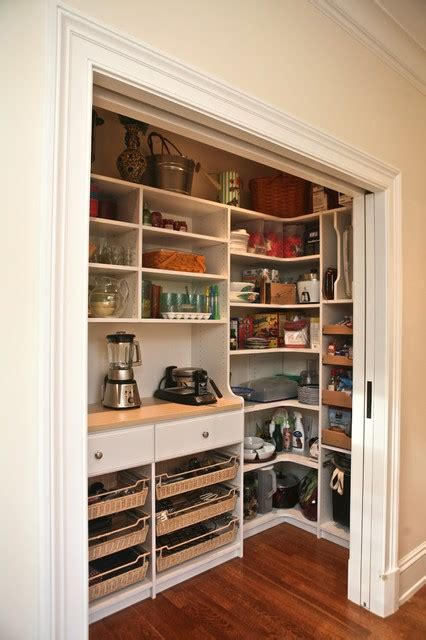 kitchen closet custom pantry