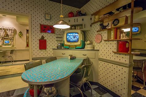 Eclectic Dining Room Tables 50 s prime time cafe