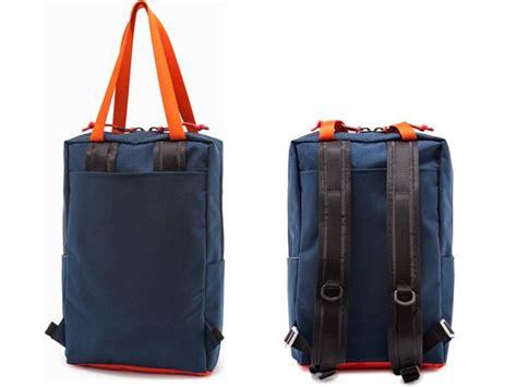 Totebag Backpack Go Left iso a backpack y convertible backpack tote bag resolved