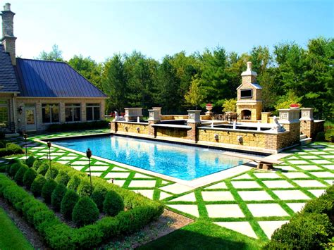 beautiful backyards kitchen enchanting series swimming pools arvidson and also