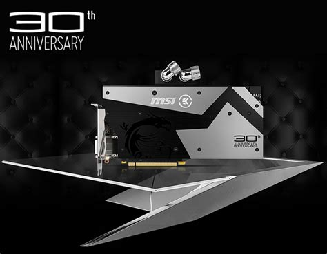Msi Geforce Gtx 1080 30th Anniversary Graphics Card