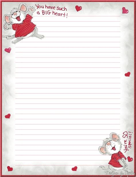 printable stationary with hearts my printable stationary creations 2 sophia designs