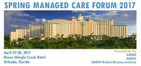 Unf Mba Mha by Namcp Managed Care Forum