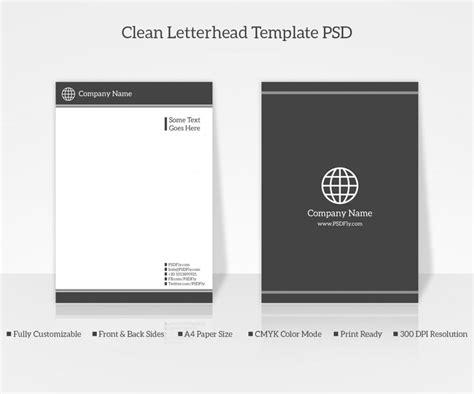 company letter head design templates psd