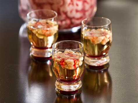 martini halloween bloody brain shooter recipe hgtv