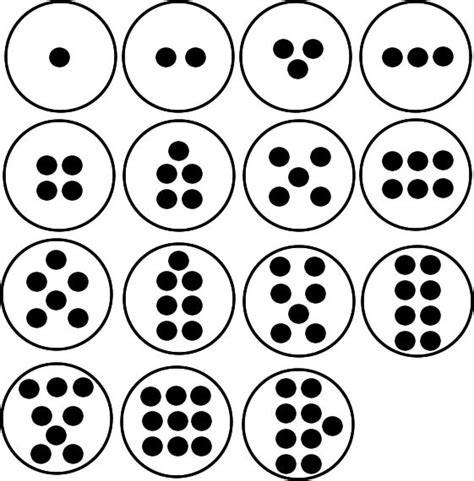 make a pattern with numbers how to make and use dot plate cards them on and number