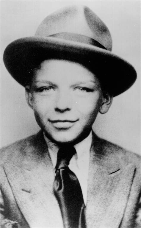 What Is Dapper Day by A Young Frank Sinatra Dapper And Rebellious From Birth