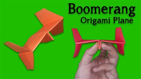 How To Make Boomerang With Paper Step By Step - best paper plane how to make a paper airplane easy