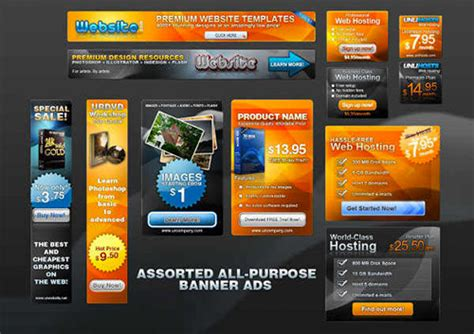 photoshop advertising templates 22 free and fully editable web banner templates psd