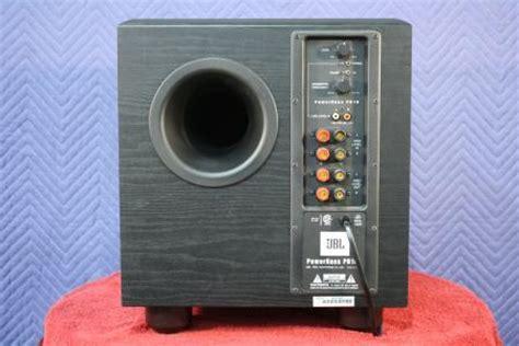 Jbl Power Bass jbl pb10 10 034 150 watt firing powered subwoofer power bass ebay