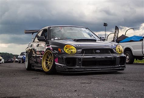 Justin Woo S Quot Backyard Built Quot Ls Swapped Subaru Wrx Drift Car