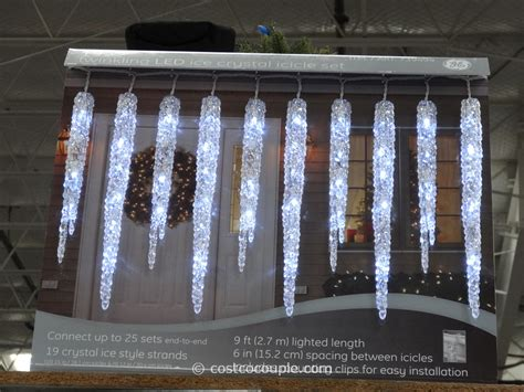 ge icicle lights icicle lights fabulous twinkling icicle led