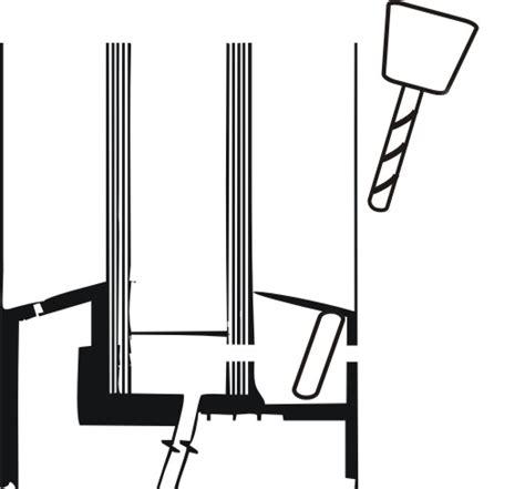 jalousie unten befestigen montage der jalousie praktic in den fensterfl 252 gel
