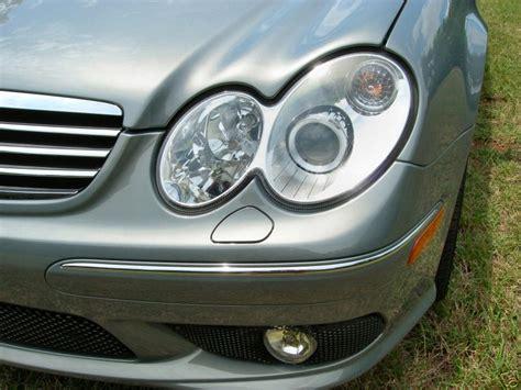Headl C Class W203 2000 2007 Projector Chrm mercedes w203 s203 c class 00 07 amg style chrome headlight cargym