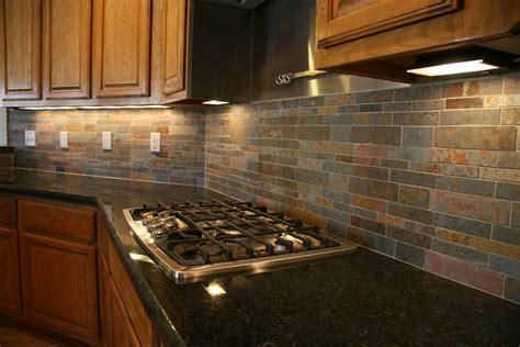 slate backsplashes for kitchens white granite countertops appealing slate backsplash