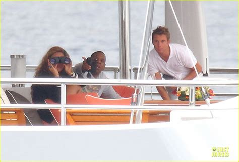 Beyonces On A Yacht by Beyonce Z Yacht Vacation In With Blue