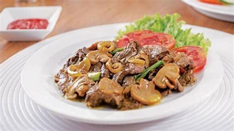 Royco Bumbu Ekstra Daging Sapi resep tumis daging sapi jamur sajian istimewa untuk keluarga merahputih