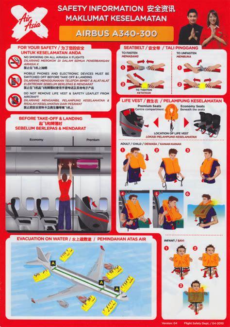 airasia safety airasia x safety video