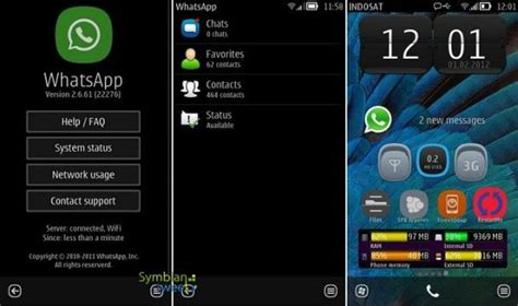 whatsapp for nokia s60 nokia belle apps whats app client for smartphones updated
