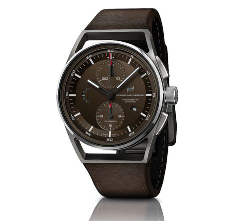 Porsche Design Uhr by Neue Uhr Porsche Design 1919 Chronotimer Flyback Brown