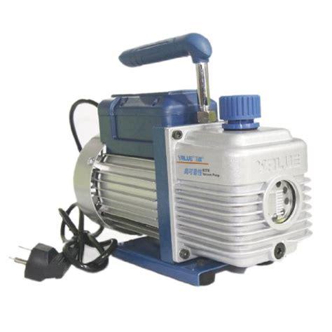 Ac Vaccum 3 cfm single stage rotary vane vacuum ac a c hvac air refrigerant r410a r134 air