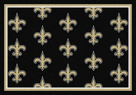 saints area rug nfl logo mats nfl area rugs sports mats