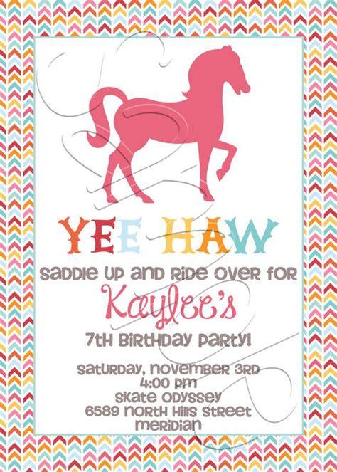 horse birthday invitations birthday printable printable horse birthday party invitation birthday party