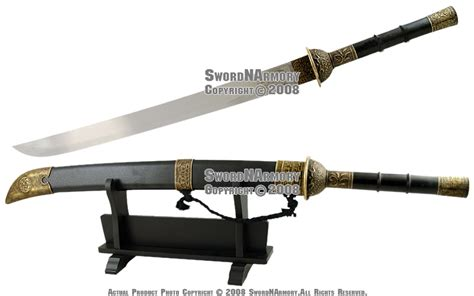 house of jin house of flying daggers movie chinese broad sword jin ebay