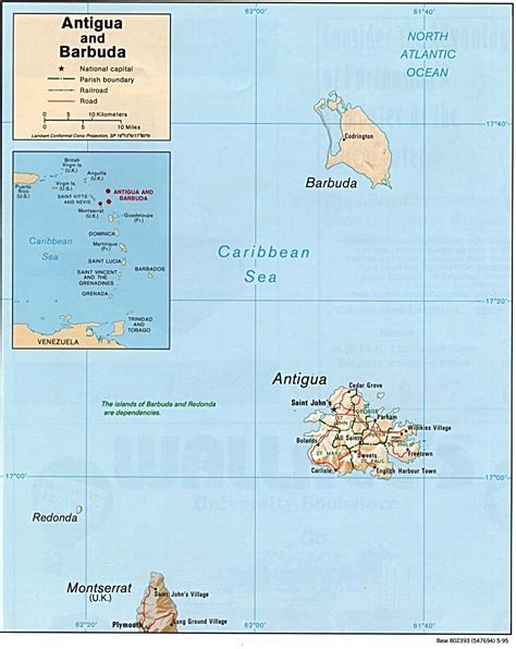 antigua and barbuda map antigua and barbuda country profile nations project