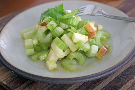 celery salad apple celery salad food bloggers against hunger challenge
