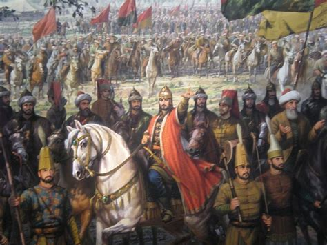 ottoman sultan muhammed at the siege of constantinople